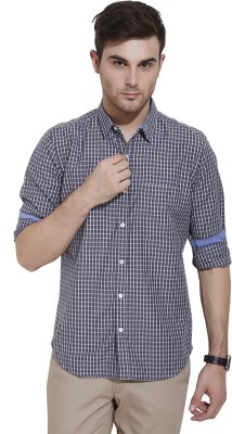 Urban Nomad By INMARK Men's Checkered Casual Grey Shirt