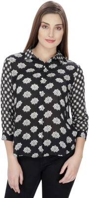 Ihastrenz Women's Printed Casual Multicolor Shirt