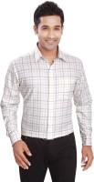 Boonplush Formal Shirts (Men's) - Boonplush Men's Checkered Formal Multicolor Shirt