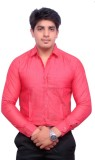 Hometrade India Men's Printed Casual Red...
