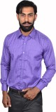 Urban Grandeur Men's Checkered Formal Ma...