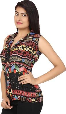 Maxi Fashion Casual Sleeveless Solid Women's Multicolor Top