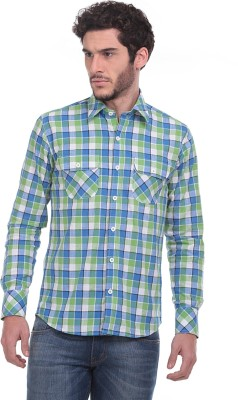 Fash-A-Holic Men,s Checkered Casual Multicolor Shirt