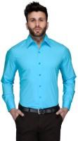 Allen Formal Shirts (Men's) - Allen Men's Solid Formal Light Blue Shirt