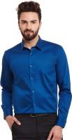 Hancock Formal Shirts (Men's) - Hancock Men's Solid Formal Dark Blue Shirt