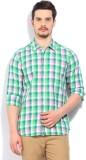 Lee Men's Casual White, Green, Pink Shir...