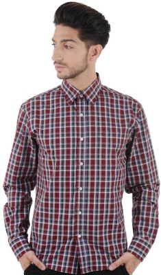Cotton Clubs Men's Checkered Casual Multicolor Shirt