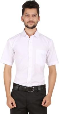 Stylo Shirt Men's Solid Formal White Shirt