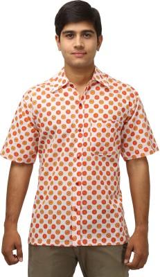 Antaragya Men's Printed Casual, Sports, Festive Multicolor Shirt