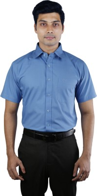 Nerellaas Men's Solid Formal Shirt