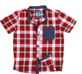 Ice Boys Boys Checkered Casual Red, Blue...