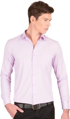 Taurus Men's Printed Casual Purple Shirt