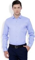 Mark Taylor Formal Shirts (Men's) - Mark Taylor Men's Solid Formal Blue Shirt