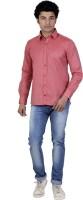 P.cod Formal Shirts (Men's) - P.COD Men's Solid Formal Orange Shirt