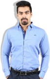 Goswhit Men's Solid Casual Light Blue, B...