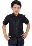 MagPie Boys Self Design Party Black Shir...