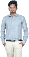 Regular Formal Shirts (Men's) - Regular Men's Solid Formal Grey Shirt