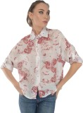 Trend Notes Women's Printed Casual Red S...