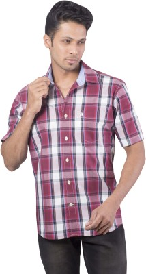 Barrier Reef Men's Checkered Casual Multicolor Shirt