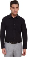 Urban Nomad By Inmark Formal Shirts (Men's) - Urban Nomad by Inmark Men's Solid Formal Black Shirt