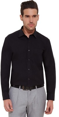 Urban Nomad By INMARK Men's Solid Formal Black Shirt