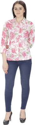 Needle9 Women's Printed Casual, Wedding, Party, Formal Multicolor Shirt