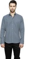 Desinvolt Formal Shirts (Men's) - Desinvolt Men's Solid Formal Blue Shirt
