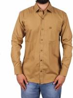 Gasconade Formal Shirts (Men's) - Gasconade Men's Solid Formal Gold Shirt