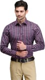 Club Morocco Men's Checkered Formal Pink...