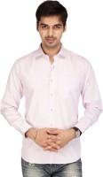 Acropolis By Shoppers Stop Formal Shirts (Men's) - ACROPOLIS by Shoppers Stop Men's Solid Formal Purple Shirt