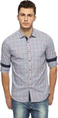 British Club Men,s Checkered Casual Multicolor Shirt