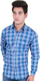 Four Lines Men's Checkered Casual Light ...