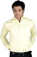 Proactive Formal Shirts (Men's) - Proactive Men's Solid Formal Yellow Shirt