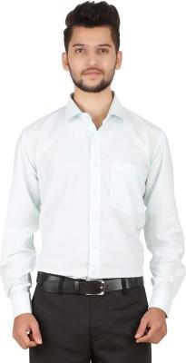Stylo Shirt Men's Solid Formal Light Green Shirt