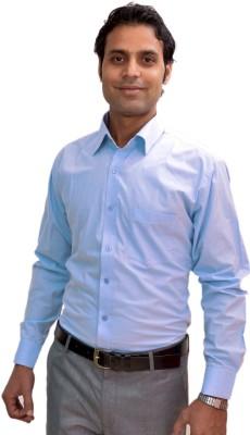AVS Polo Men's Solid Casual Light Blue Shirt