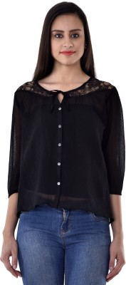 Colors Couture Women's Printed Casual Shirt