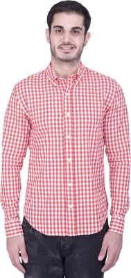 House Of Fett Men's Checkered Formal Multicolor Shirt