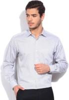 Wills Lifestyle Formal Shirts (Men's) - Wills Lifestyle Men's Printed Formal White Shirt
