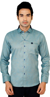 X-Secret Men's Solid Party Multicolor Shirt