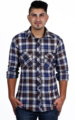 NED Men's Checkered Casual Multicolor Shirt