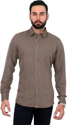 Urban Republic Men's Solid Casual Green Shirt
