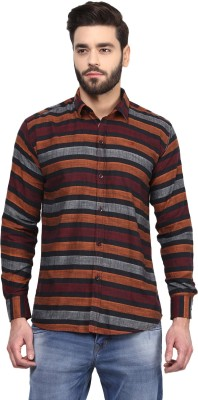 Rodamo Men,s Striped Casual Multicolor Shirt