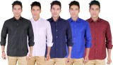 Yuva Men's Solid Casual Multicolor Shirt...