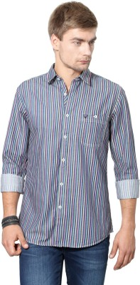 Allen Solly Men's Striped Casual Multicolor Shirt