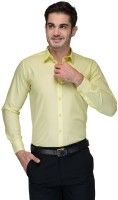Zeppellin Formal Shirts (Men's) - Zeppellin Men's Solid Formal Green Shirt