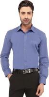 Imagica Formal Shirts (Men's) - Imagica Men's Solid Formal Blue Shirt