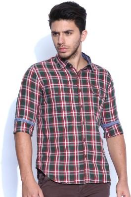 HRX by Hrithik Roshan Men's Checkered Casual Multicolor Shirt