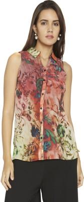 Globus Women's Floral Print Casual Multicolor Shirt