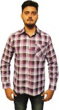 The GreeK Men's Checkered Casual Multico...