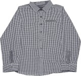Mothercare Boys Checkered Casual Blue Sh...